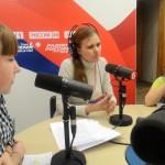 Участники  программы «Отражение» на «Радио Маяк»