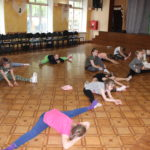 Тянемся на хореографии
